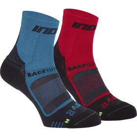 inov-8 Race Elite Pro Calze, blu/rosso